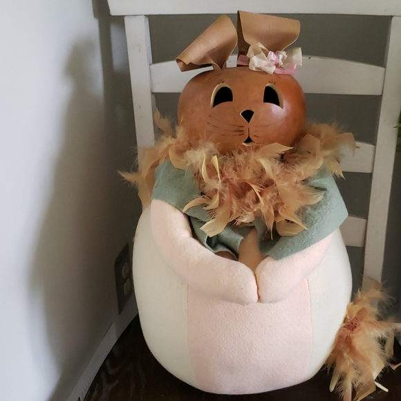 None Other - Meadowbrook Gourd Large Bunny Light Up Gourd